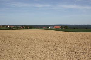 Landschaft Oberschwaben Sonnenweg