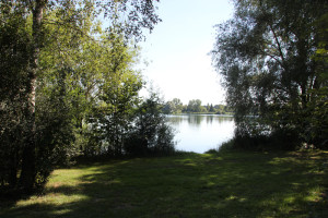 Zugang zum Wassersportsee