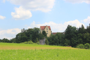 13 Schloss entlang Donau-Radweg