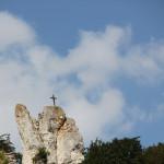 3 Kreuz auf Berg Donauradweg