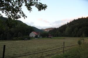 7 Bauernhof entlang Donau-Radweg