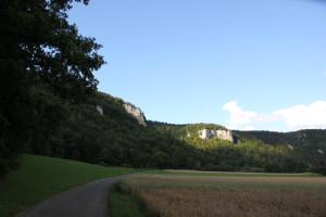 8 Felsformationen Donau-Radweg