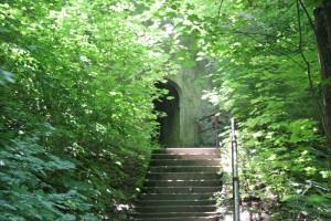 Aufstieg zum Kloster Obermarchtal