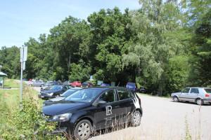 Parkplatz Haeckler Weiher
