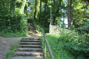 Treppe zur Wilhelmshoehe Leutkirch