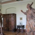 45 Figuren Abtei Raeume