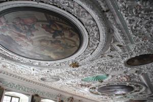 50 Speisesaal Decke Schloss Salem