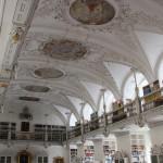 60 Bibliothek Decke