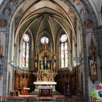 Altarraum Kirche Oggelshausen
