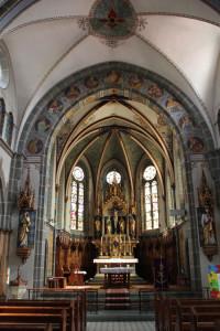 Apsis Kirche Oggelshausen