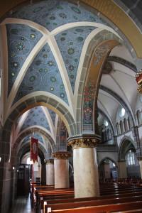 Bemalung Innen Kirche Oggelshausen