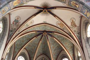 Deckengewoelbe Kirche Oggelshausen