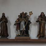 Heilige Figuren Kirche Unterwaldhausen