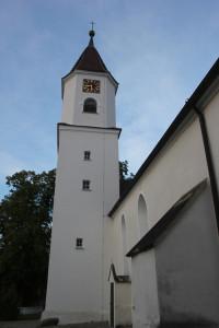 Kirchturm Kirche Unterwaldhausen