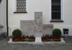 Kriegsdenkmal Kirche Unterwaldhausen