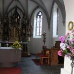 Neugotischer Hochaltar Kirche Unterwaldhausen