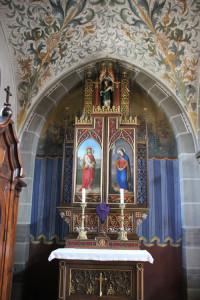 Seitenaltar Kirche Oggelshausen