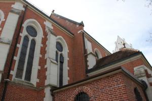 Spaetgotische Fenster Kirche Oggelshausen