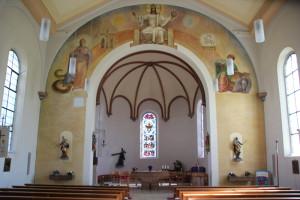 Apsis Nikolaus Kirche Schmalegg
