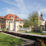 Blick auf Vorhof Neues Schloss Tettnang