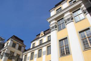 Verzierungen Fassade Neues Schloss Tettnang