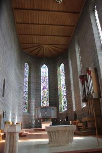 Apsis Kirche Bad Saulgau