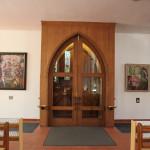 Eingangsbereich Kirche Bad Saulgau