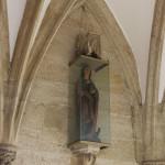 Figur am Eingang Kirche Bad Saulgau