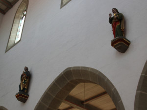 Figuren in Kirche Bad Saulgau