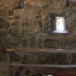 Holztreppe im Hatzenturm Wolpertswende