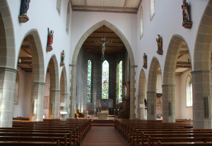 Kirche Innen Bad Saulgau