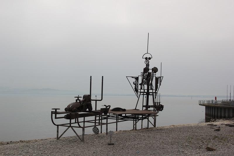 Klangschiff Uferpromenade Friedrichshafen