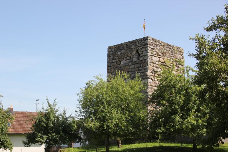 Mittelalterlicher Hatzenturm Wolpertswende