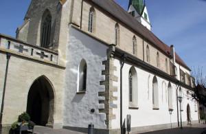 Neogotische Kirche Bad Saulgau