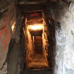 Schmaler Treppenaufgang Hatzenturm Wolpertswende
