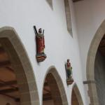 Spitzboegen Neogotik Kirche Bad Saulgau