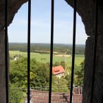 Vergitterte Fenster Hatzenturm Wolpertswende