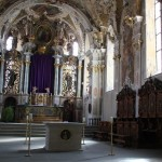 Altar Kirche Pfullendorf.