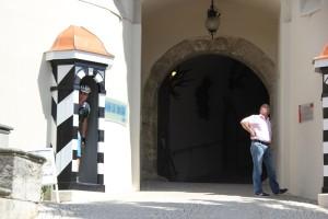 Aufgang zum Schloss Sigmaringen