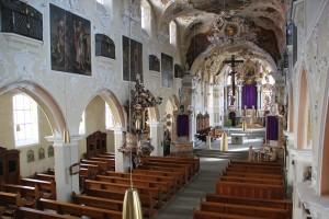 Barockes Innere Kirche Pfullendorf