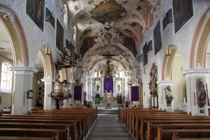 Barockes Innere St Joseph Pfullendorf