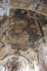 Deckenverzierungen Kirche Pfullendorf.