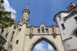 Eingang zum Schloss Sigmaringen