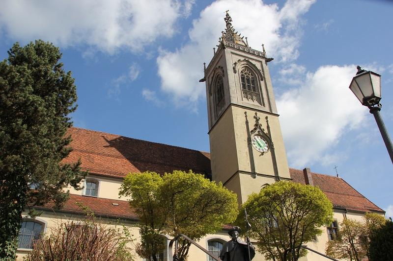 Pfeilerbasilika St Joseph Kirche Pfullendorf
