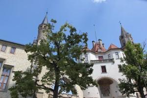 Tuerme des Schloss Sigmaringen