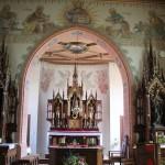 Altarraum Seitenaltare St Blasius Deggenhausen