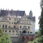 Bruecke zum Schloss Heiligenberg