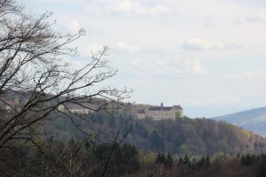 Schloss Heiligenberg von der Urburg aus