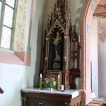 Seitenaltar links St Blasius Deggenhausen