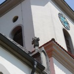 Verzierung barocker Turm Deggenhausen
